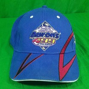 Aarons Talladega Superspeedway Blue NASCAR Hat Cap